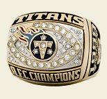 Tn Titans Afc Championship Ring